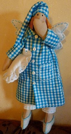 Куклы Тильды ручной работы. Ярмарка Мастеров - ручная работа. Купить Сонный ангел. Handmade. Кукла Тильда, интерьерная кукла