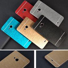 Luxury Brushed Metal Aluminium material Back sFor Nokia Lumia 535 Case For Nokia Lumia 535 Back Cover Case