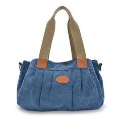 Новый досуг холст мешок ударил цвета портативный мешок плеча женщины мешок посыльного Корейский моды сумки 2015