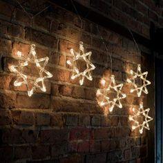 Dekorativ LED lyslenke 8-spisset-stjerne