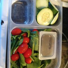 Use Gerber baby food plastic containers to hold condiments or salad dressing for lunches. I use them for every thing! They can also be recycled at your nearest facility.