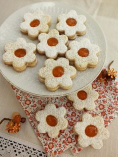 Aleda konyhája: Linzer Vaj, Cookies, Christmas, Food, Crack Crackers, Biscuits, Navidad, Xmas, Essen