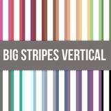 Big Stripes Vertical Digital Background Paper - Commercial Use Allowed