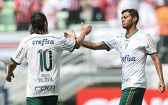 Valdivia e Claiton Xavier - Palmeiras 1x0 Botafogo/SP - Allianz Parque - Campeonato Paulista 12/04/2015