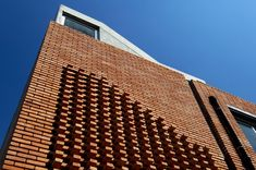 Ccdh Office Exterior Brick Wall Cladding