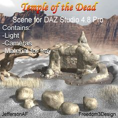 Skydome 2 Software: Bryce 7, Daz Studio 4, Carrara Requirements: Any