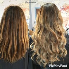 H e a v e n l y h a i r by lsextensions using our salon pro w a v e y giving hair makeovers in just 20 minutes using our luxe volume clip ins great addition to your salon services pmusecretfo Image collections