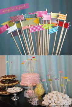 banner toothpicks for larger apps