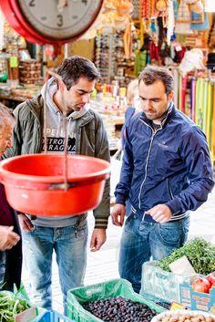 Market in Heraklio, Greece