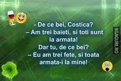 De ce bei, Costică? Happy, Ser Feliz, Being Happy