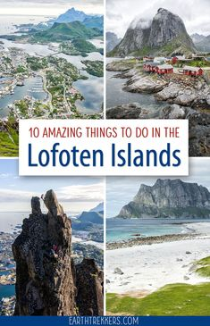Top Ten Things To Do in the Lofoten Islands - Best things to do in the Lofoten Islands, Norway. Best hikes, scenic drives, prettiest beaches, and - Cool Places To Visit, Places To Travel, Travel Destinations, Places To Go, Lofoten Islands Norway, Norway Fjords, Jotunheimen National Park, Norway Travel, Hiking Norway