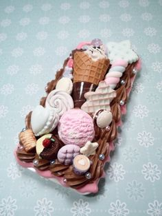 Sweet Deco Kawaii Sweet Shop Decoden Case for by Lucifurious, $38.00