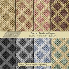 Here are 8 Burlap digital papers which can be used for scrapbooking, papercrafts, card making, background supplies, blogs, invitations and decoration. Burlap, Burlap Digital Paper, Digital Paper, Burlap Texture, Neutral Tone, Neutral Background, Burlap Paper, Burlap Scrapbook, Burlap Crafts by AnnaGraphicStyle, $4.00