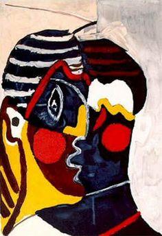 Pablo Picasso. Visage [Tête]. 1929