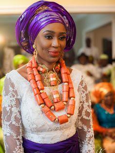 Bride Tosan - Nigerian Wedding. Photo by Bk Concept