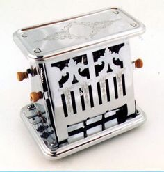 Toaster - my Grandma allowed me to flip the bread, since it only toasted one side at a time. I still have this toaster and it still works. Vintage Appliances, Small Kitchen Appliances, Kitchen Utensils, Vintage Kitchen, Retro Vintage, Vintage Items, Vintage Tools, Vintage Style, Vintage Toaster