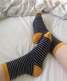 I like cute socks. Preferably knee or thigh highs ✨