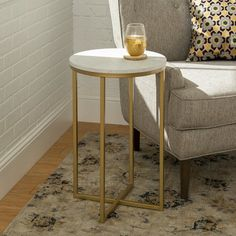 Wasser End Table Tall Side Table, Small Accent Tables, End Tables, Dyi, Wood Entertainment Center, Best Decor, Decoration Table, Apartment Living, Console Table