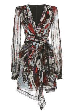 Zuhair Murad Silk Mini Dress, Mature Fashion, Dresses With Sleeves, Sexy Dresses, Event Dresses, Zuhair Murad, Fashion Watches, Fashion Outfits, Womens Fashion
