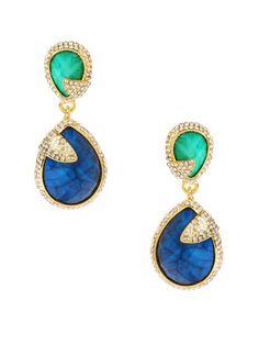 Pave Riverside Earrings by Amrita Singh on Gilt.com