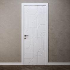 Door Blanc Ottagono Inner2 3D Model - 3D Model