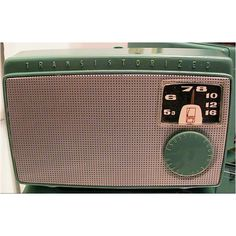 Sony TR-55.  The first radio you could fit in a coat pocket.