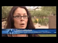 Scottsdale Community College student Sabrina Horton talks about what she looks for in an instructor.