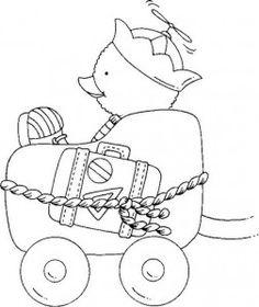 desenhos riscos patinhos decoracao quarto  pintura fraldas bebe (6)