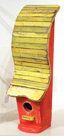 Birdhouse - Yellow & Red Slice (AD7)