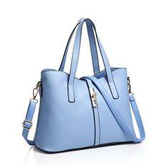 Women's PU Leather Handbag Lady's Crossbody Bag Messenger…