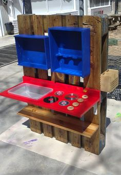 Pallets happy and simple on pinterest - Arenero para ninos ...
