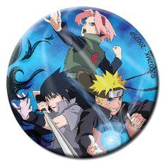 Department is Clothing, Jewelry, Button/Brooch. Primary color is Blue. Publisher is GE Animation. Series is Naruto Naruto Shippuden Sasuke, Kakashi, Anime Naruto, Hinata, Boruto, Lucky Day, Anime Merchandise, Sakura And Sasuke, Team 7