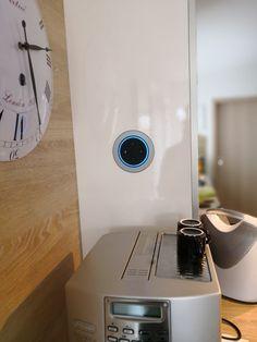 Einbaugehäuse für Echo Dot... Nun liegt er nicht mehr rum 😍 Amazon Echo, Smart Home, Rum, Smart House, Rome