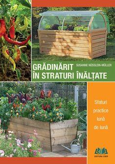 Cartea autoarei Susanne Nüsslein-Müller tratează grădinăritul la nivel înalt sub toate aspectele, punctând: - relațiile de bună vecinătate dintre plante - instrucțiuni de construcție a stratului înălțat și amplasarea corectă - modalitatea de umplere a stratului înălțat - schema de plantare a legumelor și plantelor aromatice - sfaturi practice structurate pe fiecare lună a anului - rețete gustoase care au ca ingrediente de bază legumele proaspete și sănătoase din stratul propriu