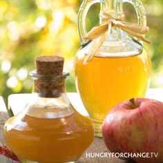 A couple of teaspoons of apple cider vinegar in a shot of water before meals provides necessary nutrients, probiotics and enzymes which aid in proper digestion and nutrient absorption.