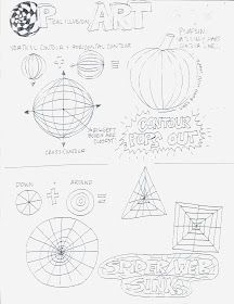 Printables Optical Illusion Worksheets downloadable pdf optical illusion line shape pattern art love these op worksheets