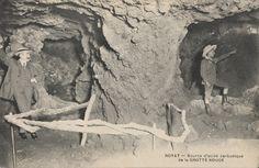 Source des grottes rouge à Royat