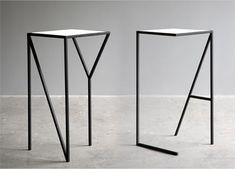NY and LA Side Tables: too awesome. I want them both.