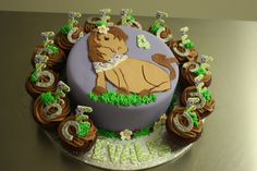 Horse Cake & Cupcakes - For a girl who loves horses