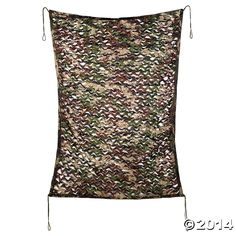 Green+ Camo curtain 16.00