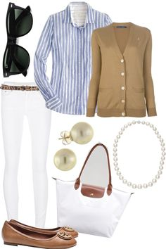 """Tan Cardigan and Cheetah Belt"" by l-woke-up-near-the-sea ❤ liked on Polyvore"