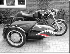Not a big sidecar guy but this pretty cool.