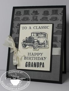 To a Classic! by Bruggetje - Cards and Paper Crafts at Splitcoaststampers
