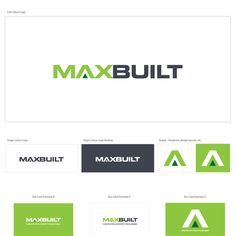 Maxbuilt - Simple word art to make my small building company look professional - thanks!