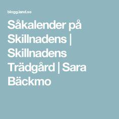 Såkalender på Skillnadens | Skillnadens Trädgård | Sara Bäckmo
