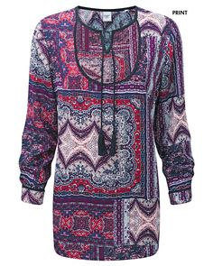 Printed Tunic at Cotton Traders