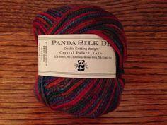 Yarn Crystal Palace Panda Silk Color Blooming 10 Balls #CrystalPalace #MachineDyed