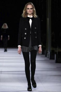 Saint Laurent Ready To Wear Fall Winter 2014 Paris Live Fashion, French Fashion, Fashion Show, Fashion News, Fall Winter 2014, Autumn, Saint Laurent Paris, Rockn Roll, Runway Fashion