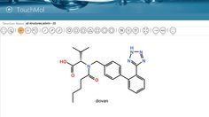 TouchMol // help chemists to draw, share and search chemical and biological structures.