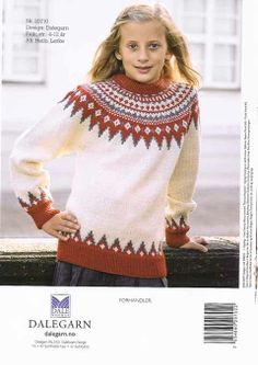 Dale 20710 Wooly Jumper, Knitting For Kids, Knitwear, Sweaters, Cardigans, Fashion, Threading, Moda, Tricot
